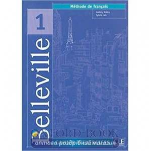 Belleville 1 Cahier d`exercices + CD audio Ndata, A ISBN 9782090336689