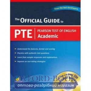 Книга Official Guide to PTE+CD ISBN 9789880030536