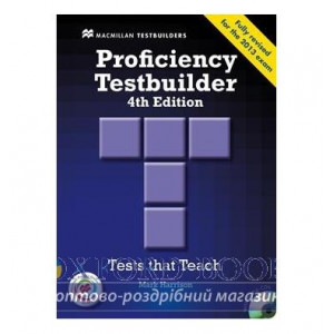 Тести Proficiency Testbuilder 4th Edition without key with Audio CDs with MPO ISBN 9780230452749