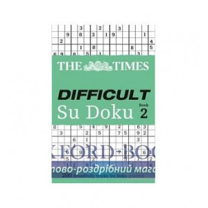 Книга The Times Difficult Su Doku. Book2 The Times Mind Games ISBN 9780007307388