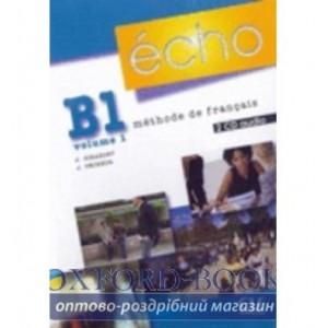Книга Echo B1.1 Collectifs CD ISBN 9782090325546