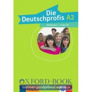 Die Deutschprofis A2 Medienpaket 2 Audio-CDs ISBN 9783126764841