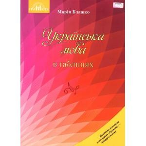 Українська мова в таблицях Навчальний посібник для ЗНЗ