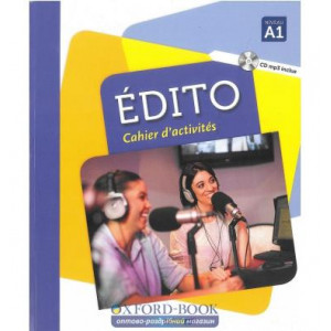 Книга Edito A1 Cahier dexercices + CD mp3 Edition 2016 ISBN 9782278083619