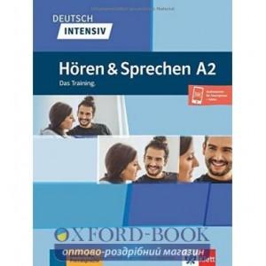 Книга Deutsch intensiv Horen und Sprechen A2 Das Training.nBuch + Onlineangebot ISBN 9783126750493