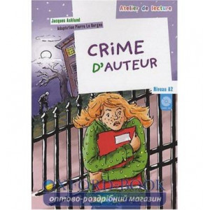 Atelier de lecture A2 Crime dauteur + CD audio ISBN 9782278060979