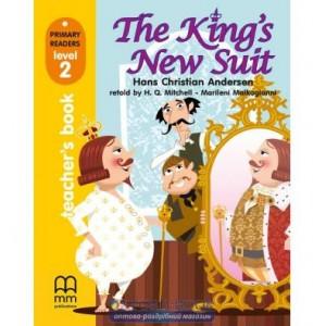 Книга для вчителя Level 2 Kings New Suit teachers book Andersen, H ISBN 9789604783076