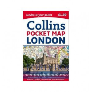 Книга Collins London Pocket Map Collins, M. ISBN 9780008214173