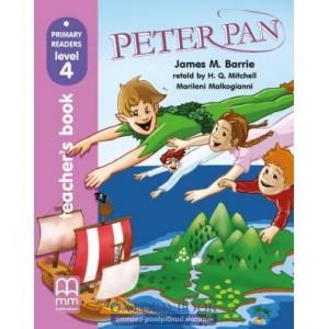 Книга для вчителя PR4 Peter Pen teachers book Barrie, J ISBN 9789604434381