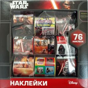 5942 Наліпки у коробці Дісней Зоряні Війни 13163004Р