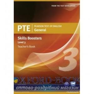 Книга для вчителя PTE Test of English General Skills Booster 3 Teachers book+CD Pack ISBN 9781408277942