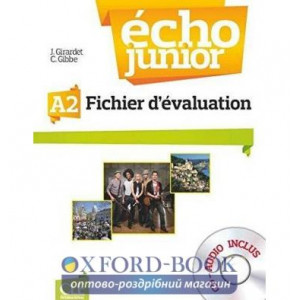 Echo Junior A2 Fichier d?valuation + CD audio Girardet, J ISBN 9782090387285