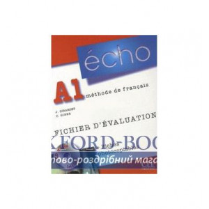 Echo A1 Fichier devaluation + fiches photocopiables + CD audio ISBN 9782090385656