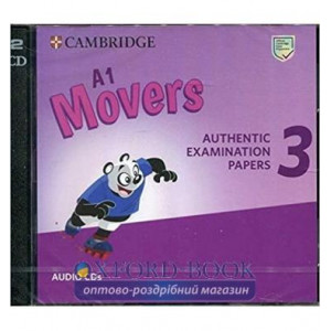 Cambridge English Movers 3 for Revised Exam from 2018 Audio CDs ISBN 9781108465236