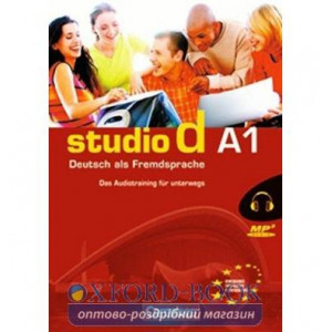 Studio d A1 Das Audiotraining fur unterwegs (CD mit Booklet) Funk, H ISBN 9783464208519