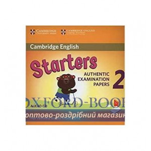 Cambridge English YLE Starters 2 for Revised Exam 2018 Audio CD ISBN 9781316636299