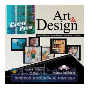 Career Paths Art and Design Class CDs ISBN 9781471518904