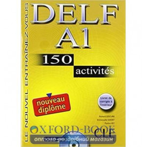DELF A1, 150 Activites Livre + CD audio ISBN 9782090352443