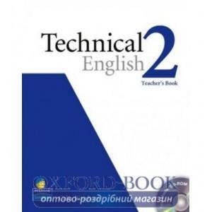 Книга для вчителя Technical English Pre-Interm 2 Teachers book+CD ISBN 9781405881456