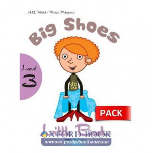 Level 3 Big Shoes (with CD-ROM) Mitchell, H ISBN 9789604783922