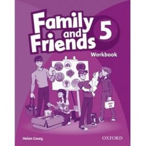 Робочий зошит Family & Friends 5 Workbook