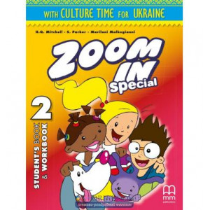 Книга Zoom in 2 Students Book+WB with CD-ROM ISBN 2000061165012