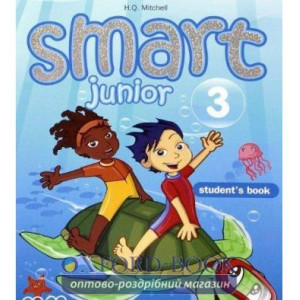 Книга Smart Junior 3 Students Book Ukrainian Edition ISBN 2000096220526