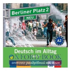 Berliner Platz 2 NEU CD zum Lehrbuch Teil 2 ISBN 9783126060721