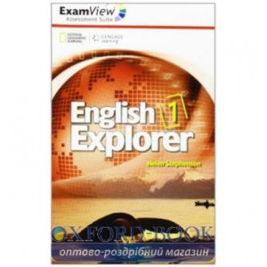 English Explorer 1 ExamView CD-ROM Stephenson, H ISBN 9781111356996