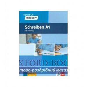 Книга Deutsch intensiv Schreiben A1 Das Training. ISBN 9783126750479