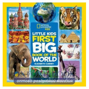 Книга Little Kids First Big Book of the World Carney Elizabeth ISBN 9781426320507