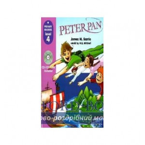 Level 4 Peter Pen with CD-ROM Barrie, J ISBN 9789604434350