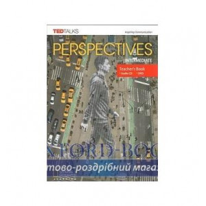 Книга для вчителя Perspectives Intermediate Teachers Book with Audio CD & DVD Barber, D ISBN 9781337298551