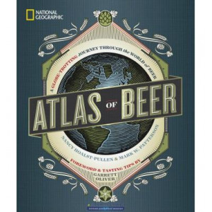 Книга Atlas of Beer [Hardcover] ISBN 9781426218330