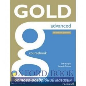 Підручник Gold Advanced Student Book ISBN 9781447907046