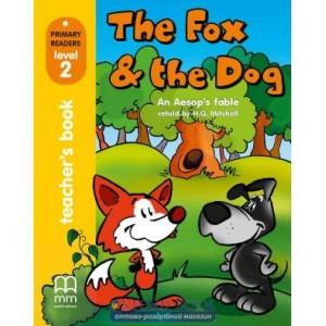 Книга для вчителя Level 2 Fox & the Dog teachers book Aesop ISBN 9789603794578