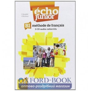 Echo Junior B1 Collectifs CD Girardet, J ISBN 9782090323337