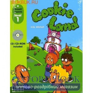Level 1 Cookie Land with CD-ROM Mitchell, H ISBN 9789604430109