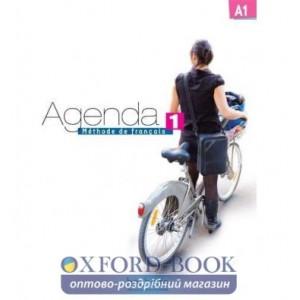 Книга Agenda 1 Livre + DVD-ROM ISBN 9782011558022