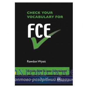 Книга Check Your Vocabulary for FCE ISBN 9780230033634