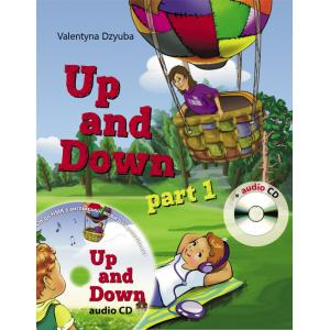 Up and Down англійська мова для дошкільнят (1 частина) 5-6 років