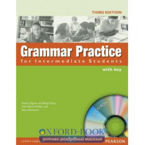 Grammar Practice for Interm with key with CD ISBN 9781405852982
