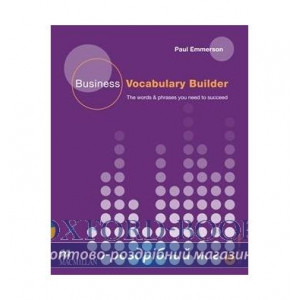 Business Vocabulary Builder with Audio CD ISBN 9780230716841