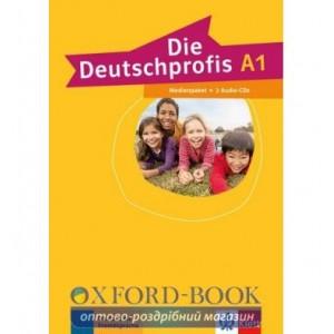 Die Deutschprofis A1 Medienpaket 2 Audio-CDs ISBN 9783126764759