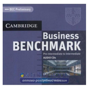 Business Benchmark Pre-int/Intermediate BEC Preliminary Ed. Audio CDs (2) ISBN 9780521672887