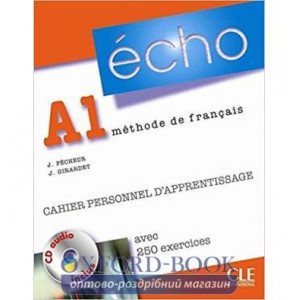 Echo A1 Cahier dexercices + CD audio + corriges ISBN 9782090385649