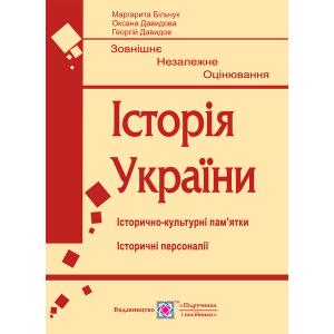 Пам'ятки архітектури та образотворчого мистецтва ЗНО Історія 2021 Більчук