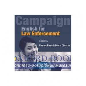 English for Law Enforcement Audio CD ISBN 9780230405264