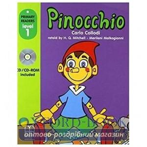 Level 1 Pinocchio with CD-ROM Collodi, C ISBN 9789604783021