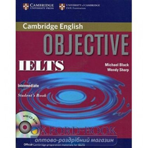 Книга Objective IELTS Intermediate Students Book without answers with CD-ROM ISBN 9780521608824
